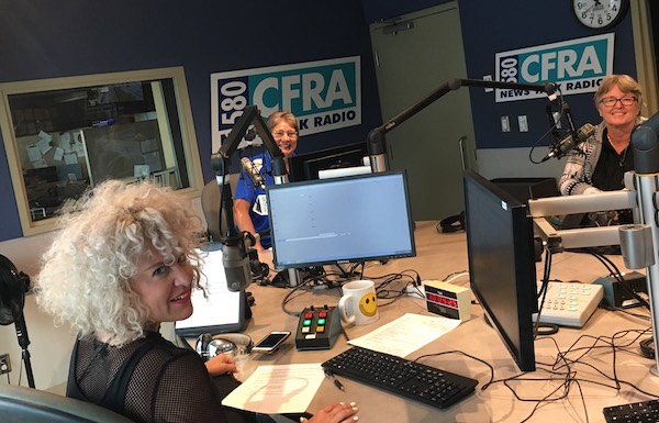 CFRA Interview The Ottawa Hospital Foundation – THE RIDE And The Alinkers