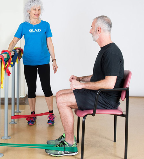 GLAD exercise program and therapy for osteoarthritis