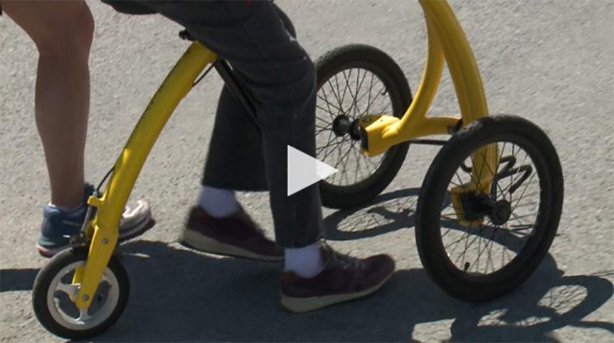 Ottawa Cyclist Back On A 'walking Bike' A Decade After A Critical Injury