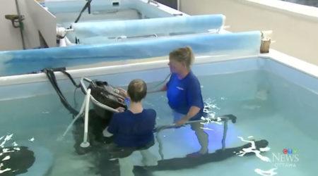 Hydrotherapy: Underwater Treadmill Class