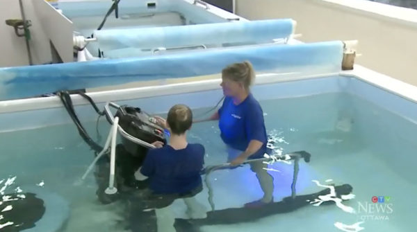 Hydrotherapy: Underwater Treadmill Class