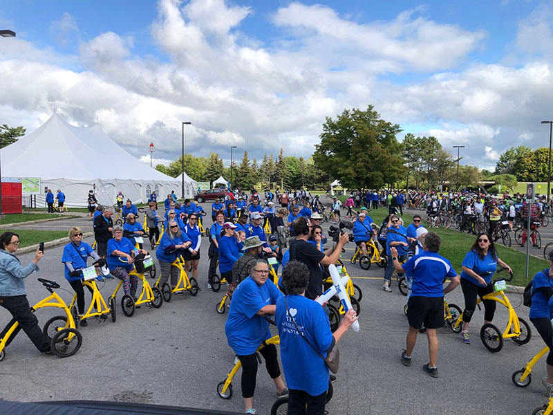 Alinkers Add Extra Joy — And Extra Wheel — To The Ottawa Hospital's Annual Ride