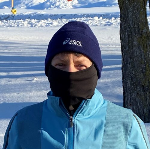 Hat And Face Mask To Wear When Winter Running