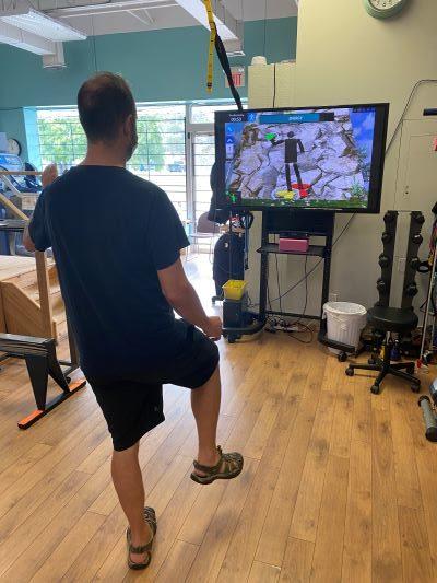 Balance Training Vestibular Exercise