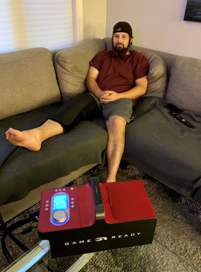 Game Ready System Post Surgery Recovery