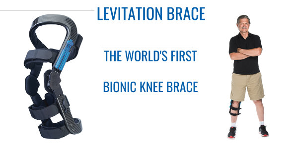 LEVITATION BRACE - THE WORLD'S FIRST BIONIC KNEE BRACE
